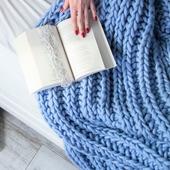 WATERFALLS Chunky Knit Blanket – Miniature 4