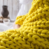 XXL Knit Throw Blanket – Miniature 4