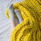 XXL Throw Blanket - Knitting Kit – Miniature 2