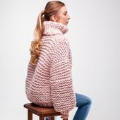 Oversized Turtleneck Sweater – Miniature 9