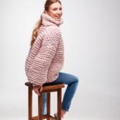 Oversized Turtleneck Sweater – Miniature 4