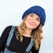 Chunky Hat MAXI PLUS - Knitting Kit – Miniature 5