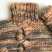 Chunky Cable Knit Sweater - High Neck – Miniature 5