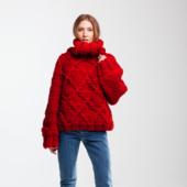 Drop Shoulder Oversized Sweater DIAMOND – Miniature 2