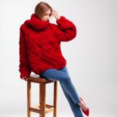 Drop Shoulder Oversized Sweater DIAMOND – Miniature 5