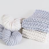 AMAZON Two-Сolored Scarf - Knitting Kit – Miniature 3