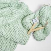 SIMPLY Blanket - Knitting Kit – Miniature 2