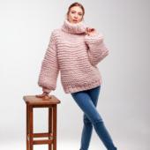 Oversized Turtleneck Sweater – Miniature 8