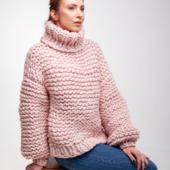 Oversized Turtleneck Sweater – Miniature 6