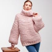 Oversized Turtleneck Sweater – Miniature 2