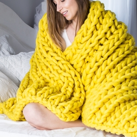 XXL Knit Throw Blanket