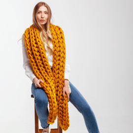 Giant Knitted Scarf