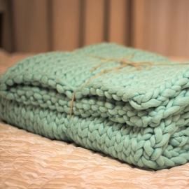 MAXI Knit Throw Blanket