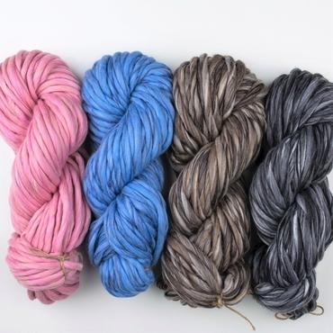 thick wool yarn - merino silk