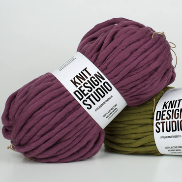 Jumbo knitting yarn