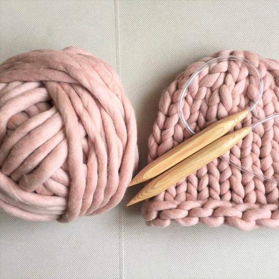 Chunky Hat MAXI - Knitting Kit – Photo 3