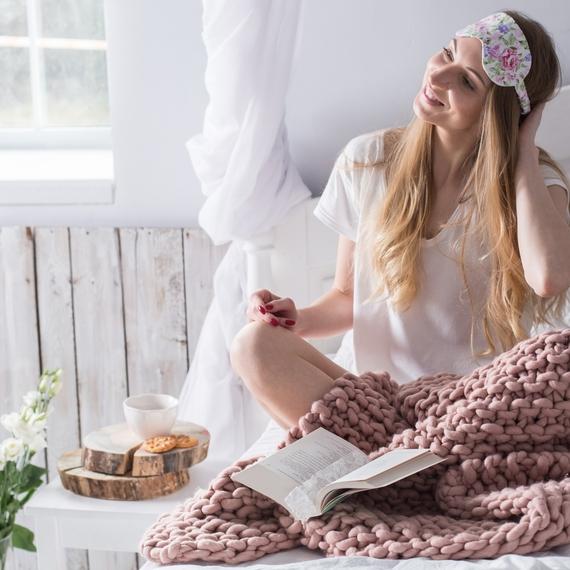 MAXI Throw Blanket - Knitting Kit – Photo 4