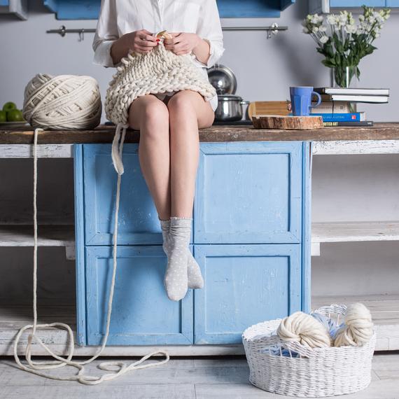 SIMPLY Blanket - Knitting Kit – Photo 7