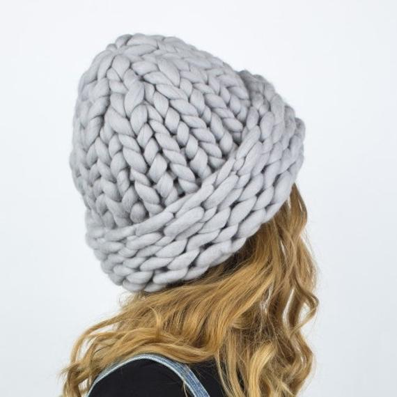 Chunky Knit Hat MAXI PLUS – Photo 3