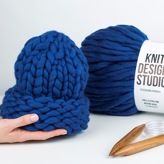 Chunky Hat MAXI PLUS - Knitting Kit – Photo 6