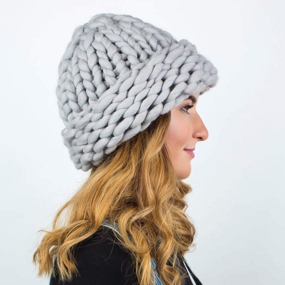 Chunky Hat MAXI PLUS - Knitting Kit – Photo 2