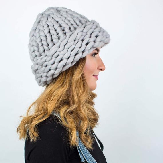 Chunky Knit Hat MAXI PLUS – Photo 1