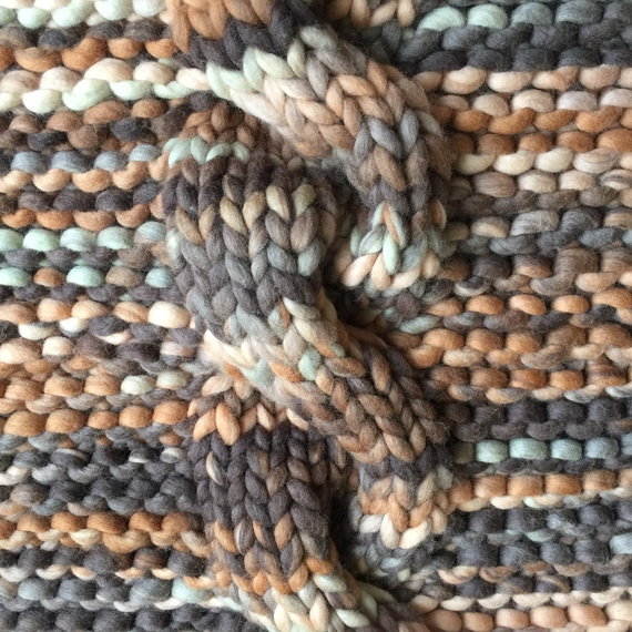 Chunky Cable Knit Sweater - High Neck – Photo 4
