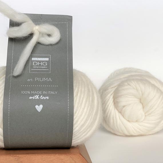 PIUMA - DHG™ - 100g - Natural White color (main photo)