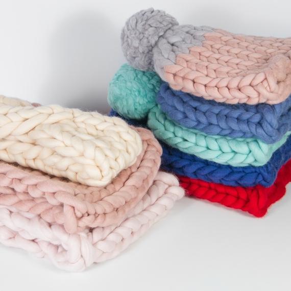 Chunky Hat MAXI - Knitting Kit – Photo 5