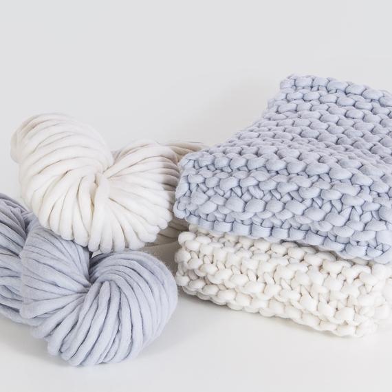 AMAZON Two-Сolored Scarf - Knitting Kit – Photo 3