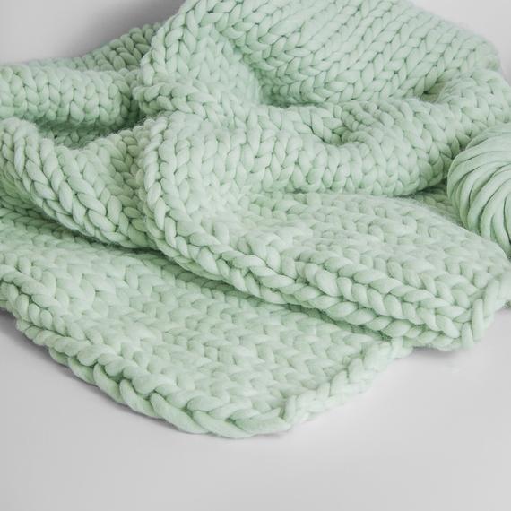SIMPLY Blanket - Knitting Kit – Photo 5