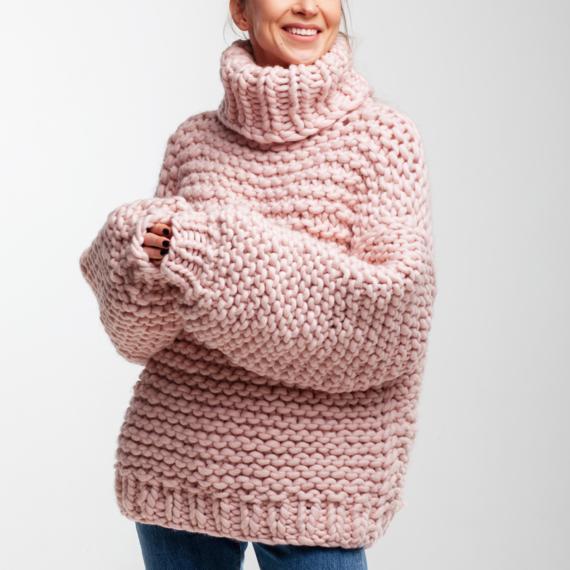 Oversized Turtleneck Sweater – Photo 1