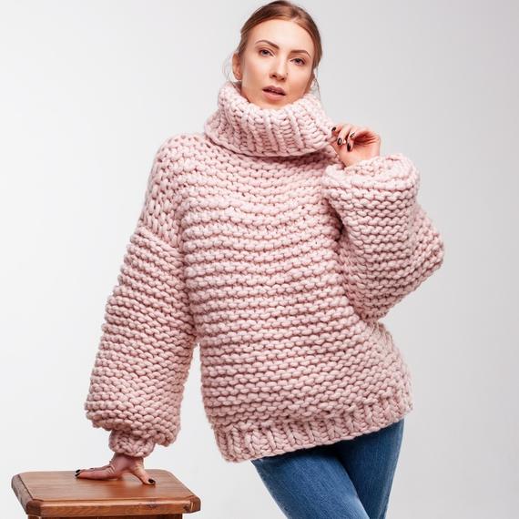 Oversized Turtleneck Sweater – Photo 2