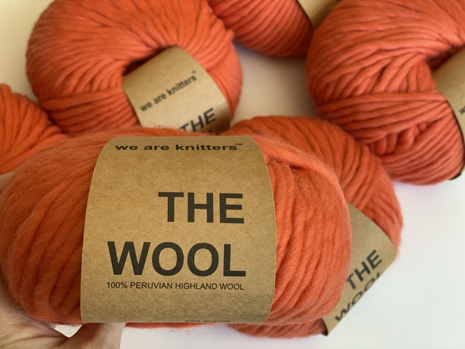 Chunky Peruvian Wool Yarn - THE WOOL - We Are Knitters™ - 200g – Photo 3